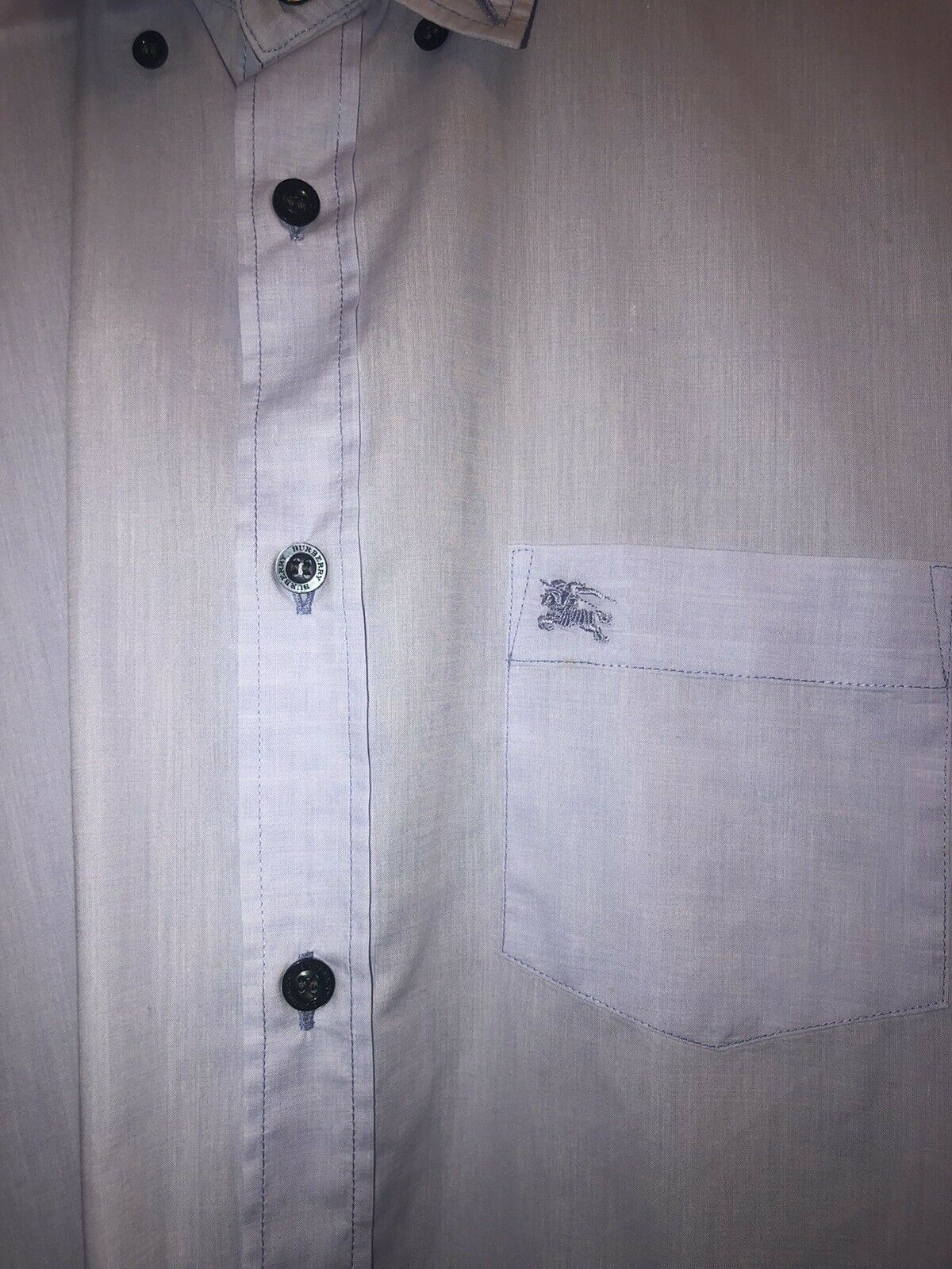 Burberry Button Up Shirt - image 4