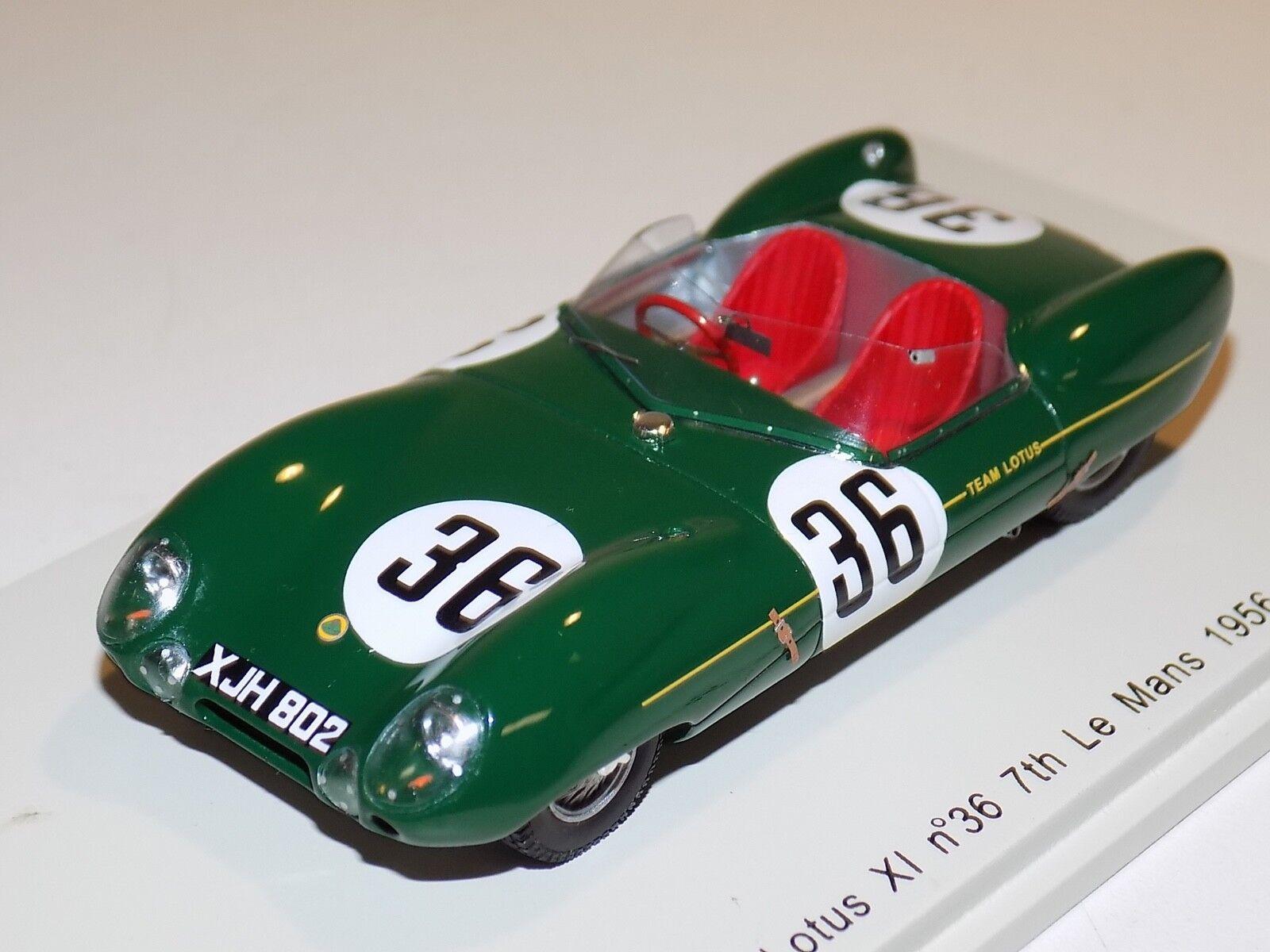 1 43 Spark Lotus XI  Car  36 24 H Lemans 1956  S2188