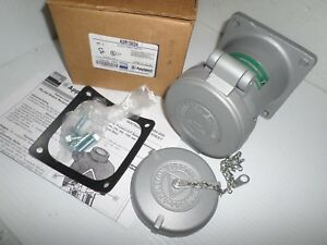 NEW-IN-BOX-APPLETON-150-AMP-3W-4P-RECEPTACLE-ADR15034-MATES-WITH-ACP15034CD-NOS