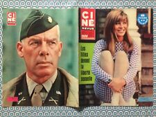 Ciné Revue n 36 1967 Julie Christie Lee Marvin Anna Karina Elizabeth Taylor