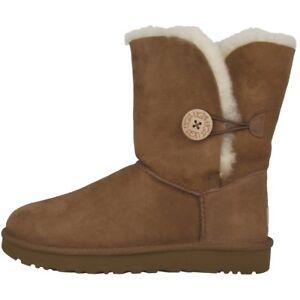 Boots Damen Button Ii Gefüttert Bailey Stiefel Zu Ugg Details Australia 1016226 Chestnut lK1TFJuc3