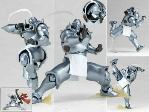 Figma Revoltech Yamaguchi No.117 Fullmetal Alchemist Alphonse Elric Figur NoBox