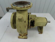 4x 3 Flanged Cast Iron End Suction Centrifugal Water Trash Pump 5 Impeller