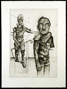 Kritischer-Realismus-Studie-1975-Rad-Wolfgang-PETRICK-1939-D-handsigniert