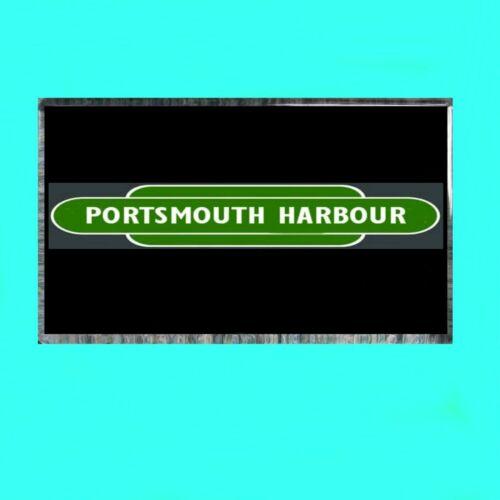 Portsmouth Harbour Southern Region SR Fridge Magnet Souvenir Days Gone Bye