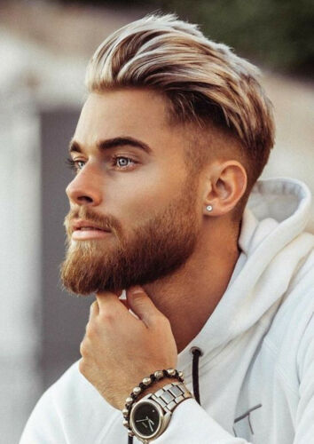MENS HAIRSTYLE POSTER HAIR SALON BARBER HAIRDRESSER TRENDS WALL ART SIZE A4