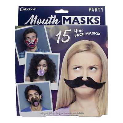 Mouth Masks Funny Face Novelty Gift For Party Clip On Nose PP4228FM