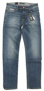 HIS-Herren-STRETCH-Jeans-Modell-STANTON-pure-medium-blue-101383-9381-B-Ware
