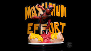 Quantum Mechanix X Marvel Comics - Effort maximum 14cm Q-fig Mini figurine Deadpool