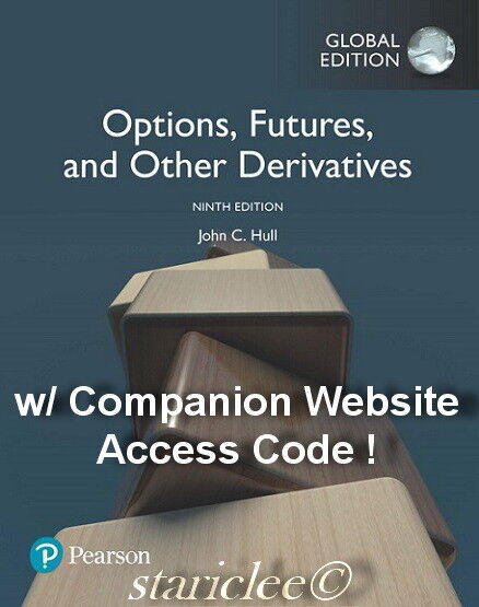 NEW 3 Days AUS Options, Futures and Other Derivatives 9E John C Hull 9th Edition