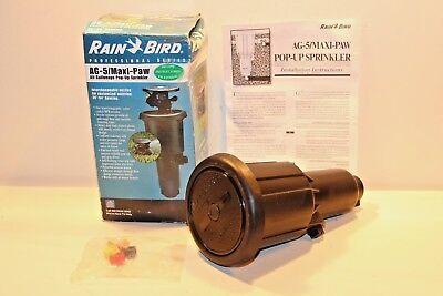Rain Bird 177841-02 Ag-5 Maxi-Paw Impact Sprinkler Sprinkle System Pop Up Water