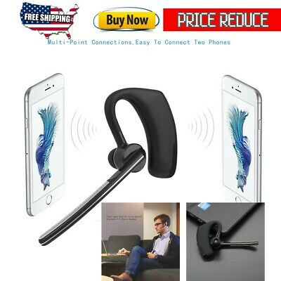 Original Business Bluetooth Headset With Text And Noise Reduction Iphone Android Ebay