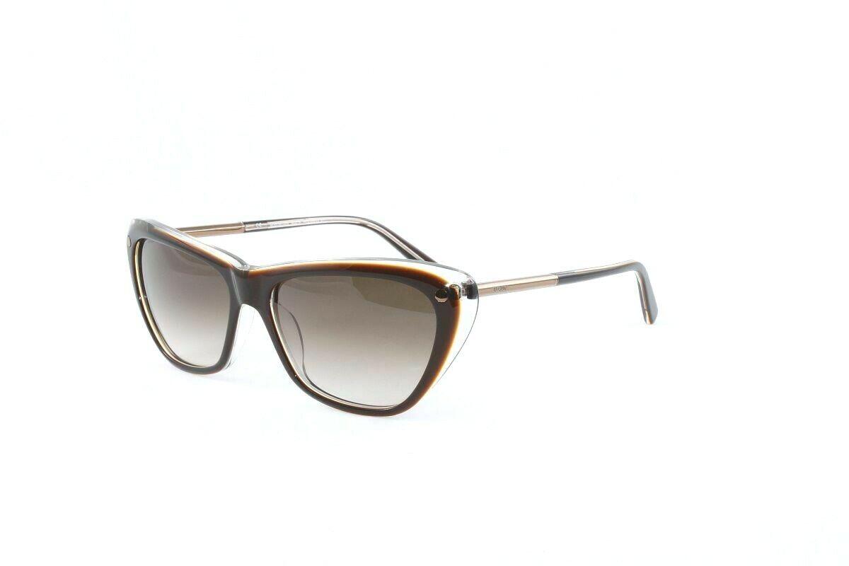New! Balmain Women's Sunglasses BL2069 C02 Brown Crystal w/Brown Lens Size 56mm