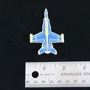 US Navy Blue Angels Large F-18 Hornet Hat Pin