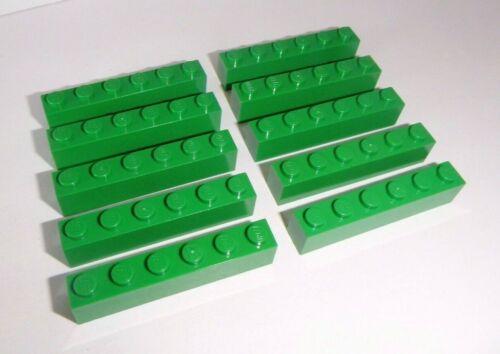 in grün aus 7636 4511 4512 7898 60025 7998 3009 Lego 10 Basic Steine 1x6x1