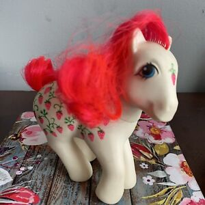 My-Little-Pony-SUGARBERRY-G1-Twice-As-Fancy-Strawberry-Fair-Vintage-1987