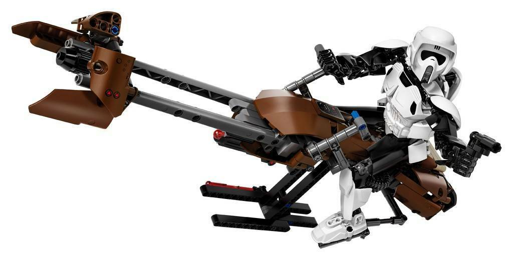 LEGO 75532  Scout Trooper™ e Speeder Bike™ - STAR WARS 10-14anni Pz 452  économisez jusqu'à 30-50%