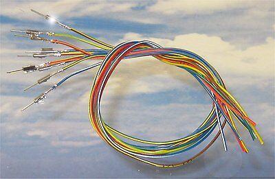5x 15cm Reparatur-Leitungen Kabel 0,35mm² 000979018EA Kontakt VW Audi Seat BMW