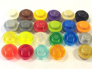 50x Lego ® Plates Round Plate Round parts no 4073 1x1 Dark Violet Dark Purple