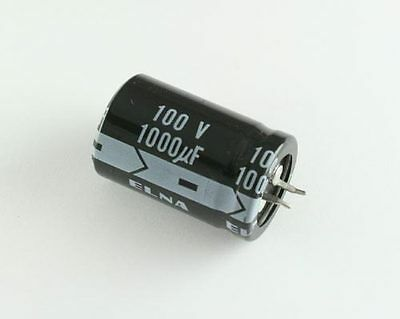 12x 1000uF 80V Radial Snap In Mount Electrolytic Capacitor DC 105C 1000mfd 80VDC