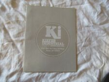 Ki Kiefer Built Utility Trailers Brochure Catalog