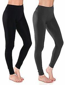New Fleece Lined Seamless Leggings Winter Warm Thick Stretch Women Seemless Cozy