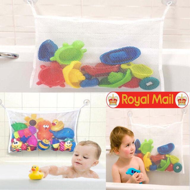 Kids Duck Net Bathroom Tidy Organiser Baby Starfish Toy Bath Storage Bag