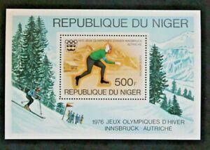Timbre-NIGER-Yvert-et-Tellier-Bloc-n-13-n-Mnh-Z21-Stamp