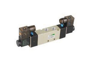 """Fonray Air Pneumatic Solenoid Valve 2 position 5 way 1//4/"""" 4V210-08-F-DC24V"""