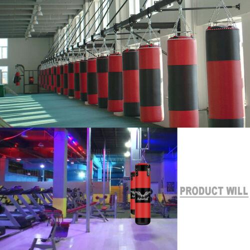 1+9 Kids UnFilled Punching Bag Set Boxing Gloves MMA Training Kick Free gloves