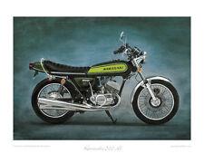 Kawasaki 500 H1 (1973) -  Limited Edition Collectors Print