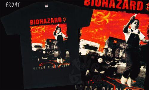 American heavy metal ban BIOHAZARD Urban Discipline S to 6XL sizes T/_shirt