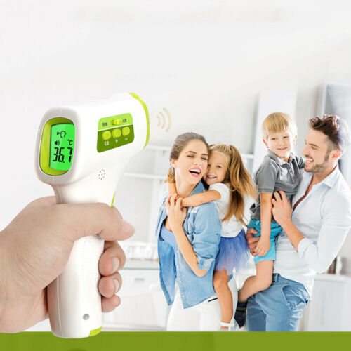 NON-CONTACT Digital IR Infrared Forehead Thermometer Adult Baby °F//°C Available