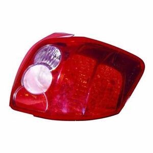 Fits-To-Toyota-Auris-2007-8-2010-Rear-Tail-Light-Lamp-Farba-Type-Drivers-Side