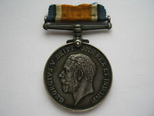 WWI War Medal to 54007 PTE J BOOCOCK WEST YORKS REGT