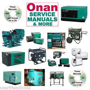 onan rv generator nh parts catalogs service manual 30 manuals rh ebay com onan generator manuals free onan generator manual 5500