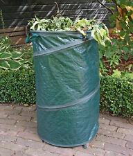 Grafner 10er Set Gartentasche Laub rund Doppelnaht 67x76cm 272L Rasensack N127