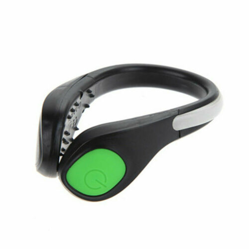 Colorful LED Luminous Shoe Clip Light Night Safety Warning Running Outdoor