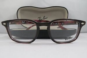 e217b7684b Ray-Ban RB 5353 5628 Brown Red Marble New Authentic Eyeglasses 50mm ...