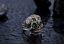 Anello-Massiccio-Fascia-Uomo-Donna-Unisex-Acciaio-Inox-Steel-Teschio-Skull-Punk miniatura 4