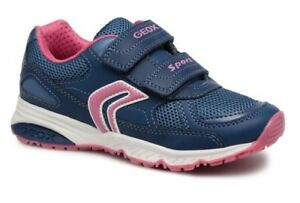 Details about Geox J Bernie B Girls AvioFuchsia Trainers 100% Positive Review