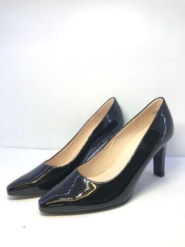 Peter Kaiser Womens Black Patent Court Heels Uk Size 3