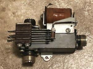 Vintage ham tube radio equipment coaxial relay 115 VAC ...