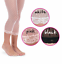 Swiss Dot Lace Trim Capri Tights fits 2 to 14 years JEFFERIES Black White Pink