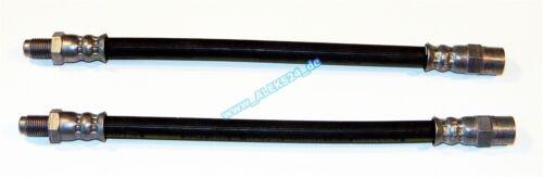 taller calidad * 2x bremsschlauch//bremsschläuche eje trasero para bmw