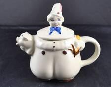 Vintage Shawnee Pottery Porcelain Ceramic Teapot Tea Pot Tom The Piper's Son
