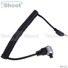 Fernbedienung Auslöser Kabel—2.5mm to RS-C3 f Canon Kamera EOS 50D/40D/30D/20D
