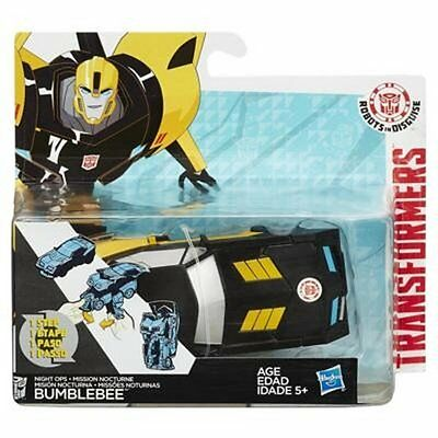 Transformers Robots in Disguise NIGHT OPS BUMBLEBEE Figure One Step Changer