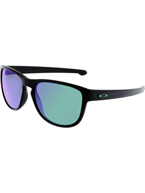d21dcc14374 NEW! Oakley Sliver R OO9342-05 Matte Black   Jade Iridium Sunglasses 57mm