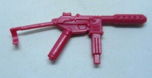 GI Joe Weapon Firefly Gun Red 1984 Original Figure Accessory